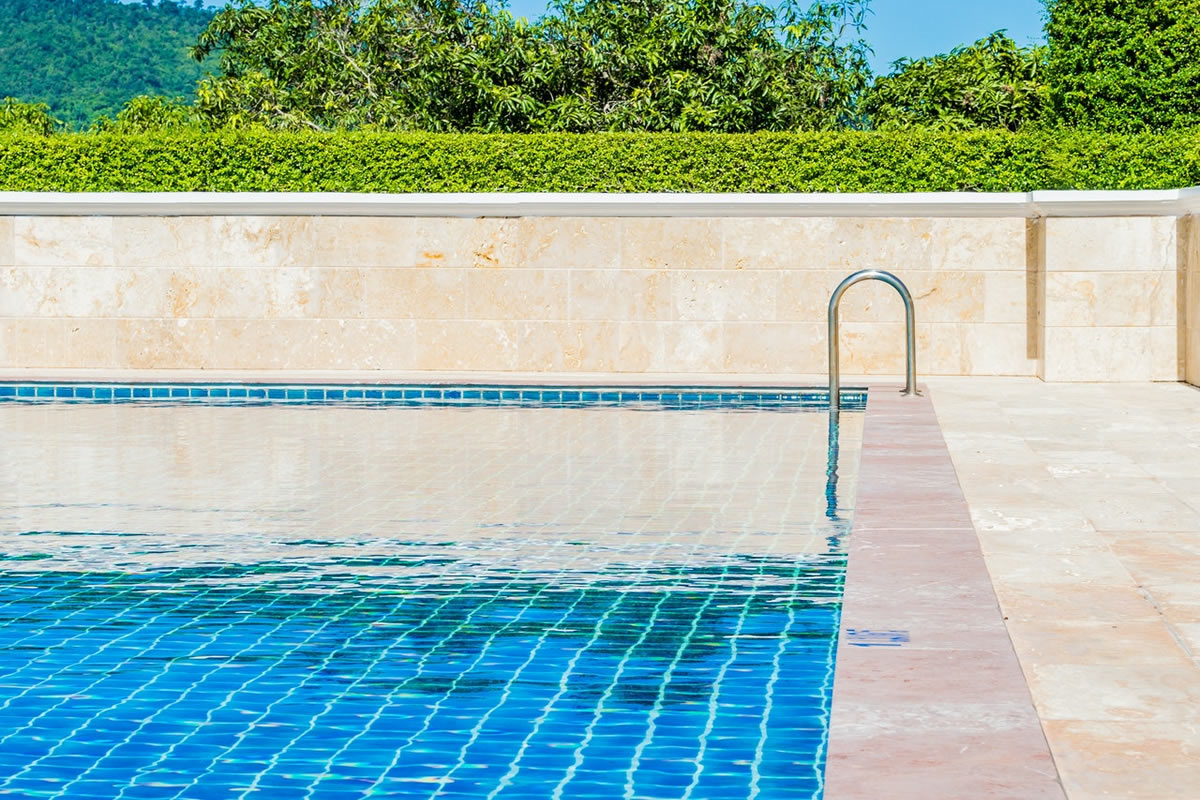 Three Types of Waterline Tiles to Enhance Your Pool